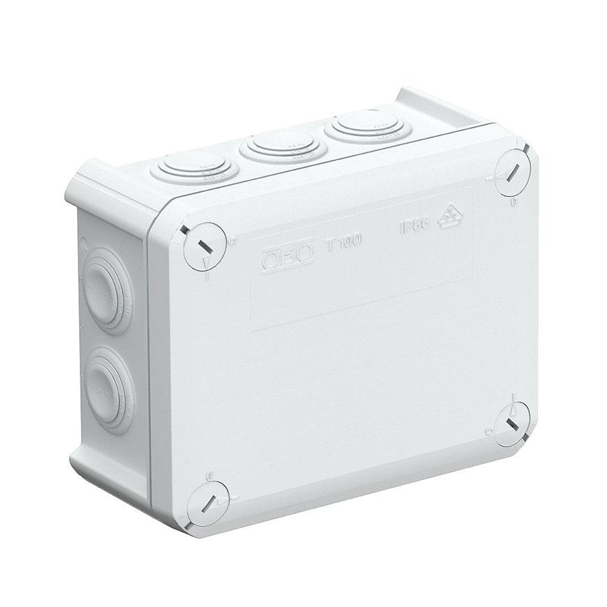 OBO kabeldoos, type T100, 150 x 116 x 67 mm, M25, IP 66, 500 V  default 870x870