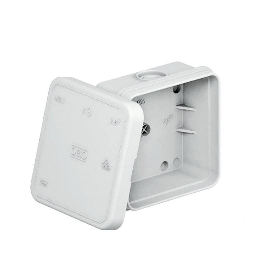 OBO kabeldoos, type A8, 75 x 75 x 36,2 mm, 7 kabelinvoeren, IP 54, 660 V  default 870x870