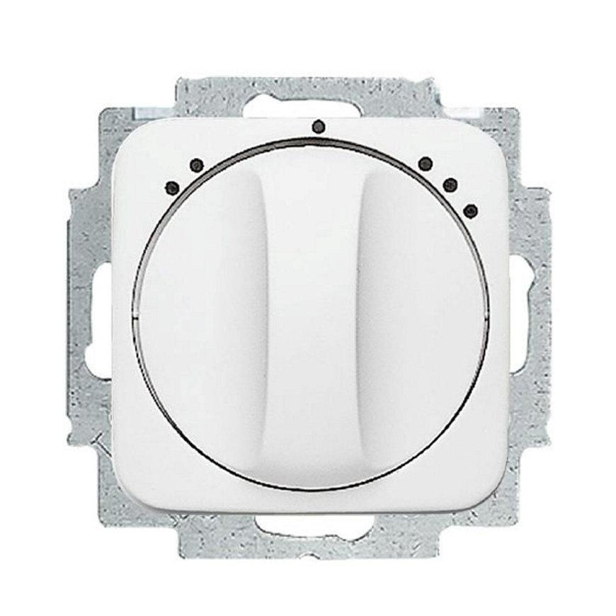 Busch-Jaeger inbouw ventilatorschakelaar, Reflex SI, incl. centraalplaat, 3-standen, alpine wit  default 870x870