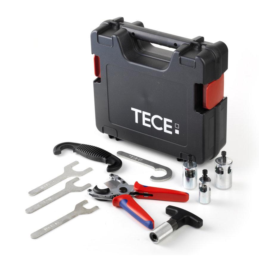 TECElogo gereedschapkoffer met gereedschap, 32 - 50 mm