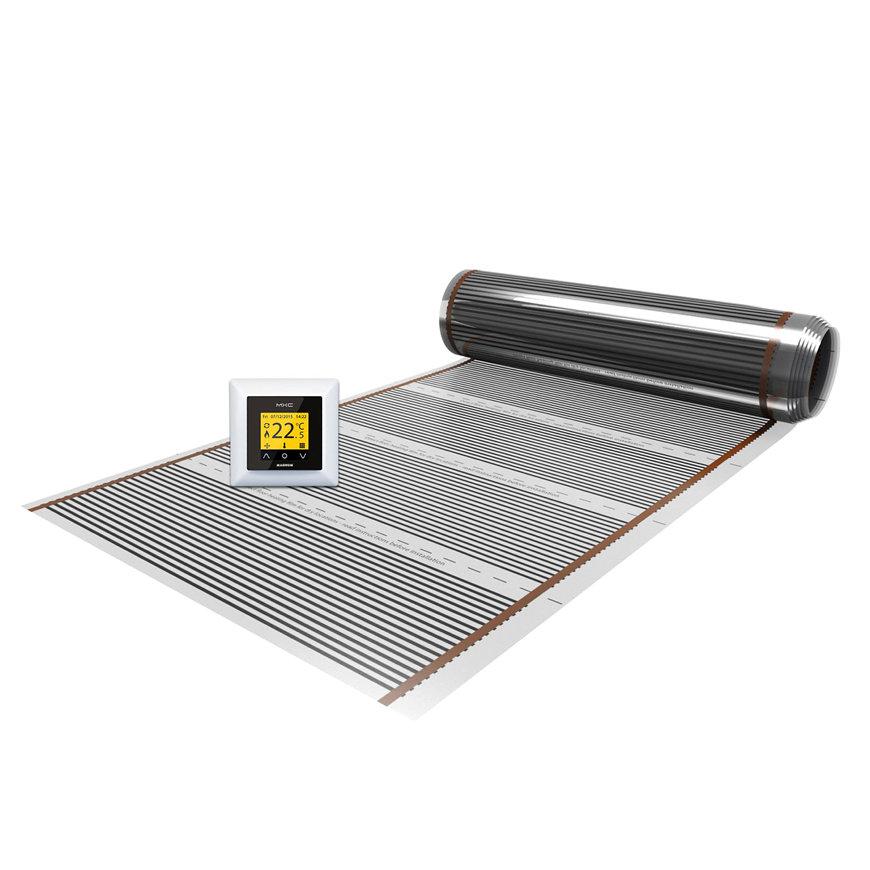 MAGNUM Foil verwarmingsfolie set voor houten vloeren, X-treme Control, 1200 W, 10 m², 0,6 x 16,8 m  default 870x870