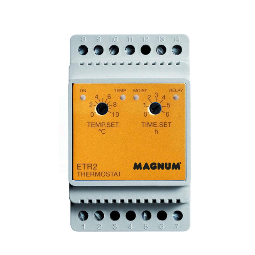 MAGNUM thermostaat voor Outdoor vloerverwarming, ETR-2, temperatuur + vocht, 16A - 230 V  default 870x870