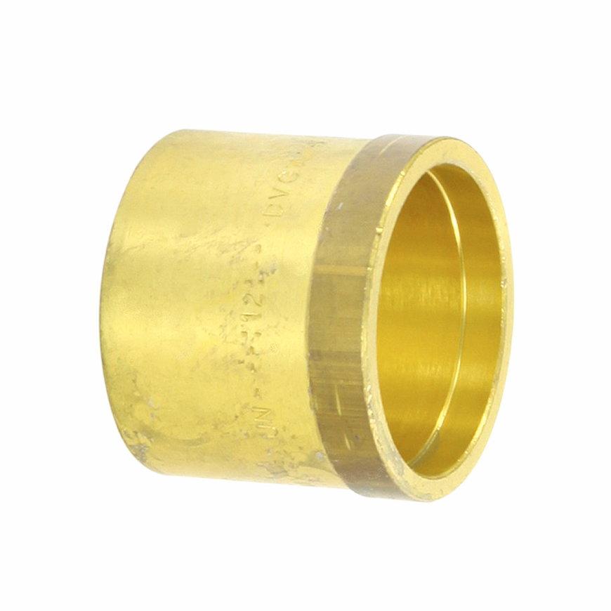 TECEflex drukhuls voor Alupex buis, messing, 14 mm