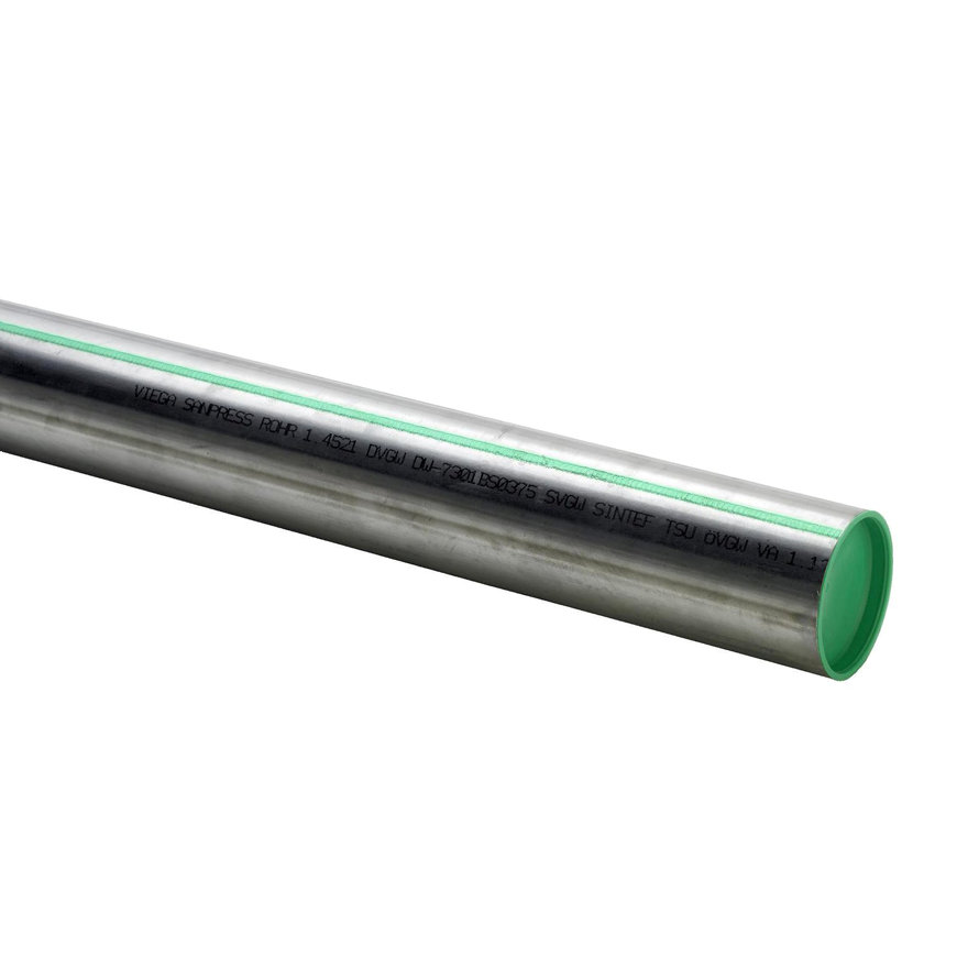 Viega Sanpress rvs buis, type 2205, 1.4521 (AISI 444), 12 x 1 mm, l = 6 m  default 870x870