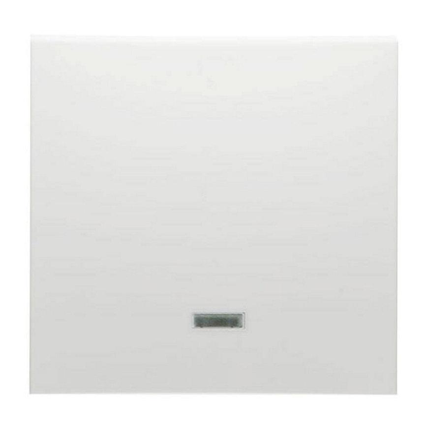 Peha Badora klemwip met controlelamp, voor controle- of pulsdrukker met verlichting, levend wit  default 870x870