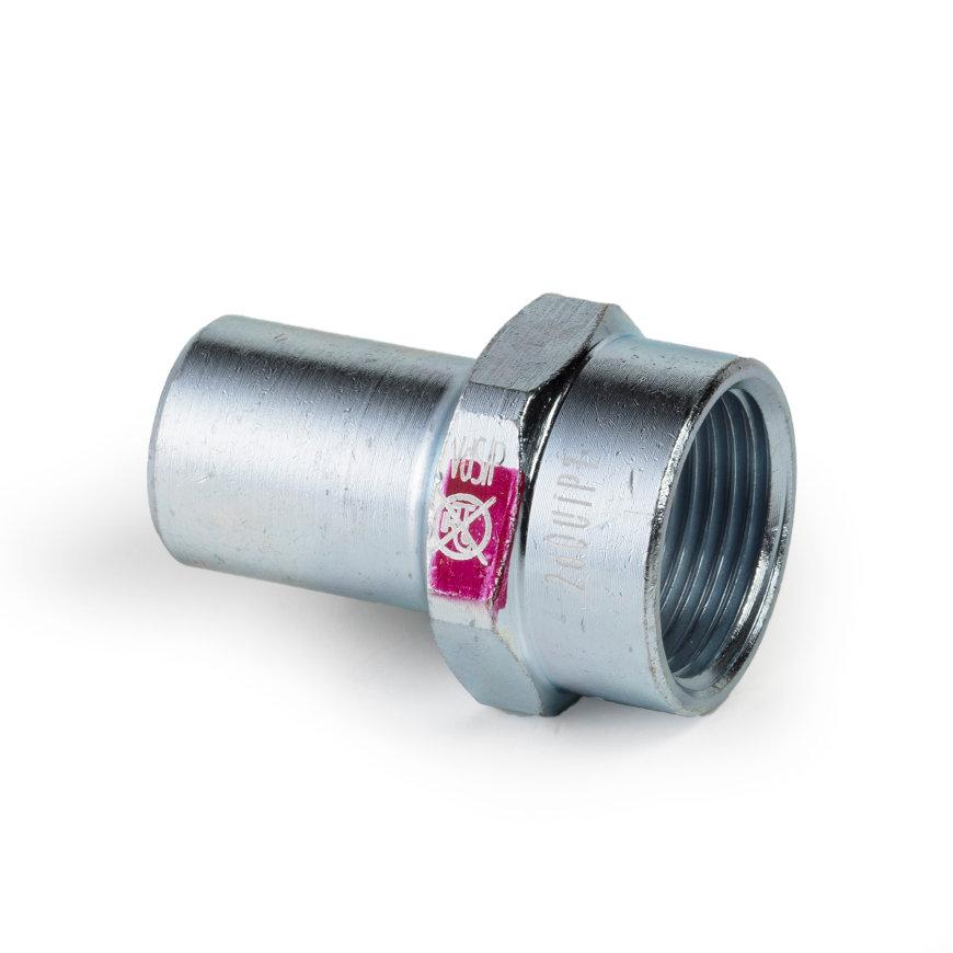 """Viega Prestabo insteekstuk met SC-Contur, spie x binnendraad, type 11121, 18 mm x ½""""  default 870x870"""