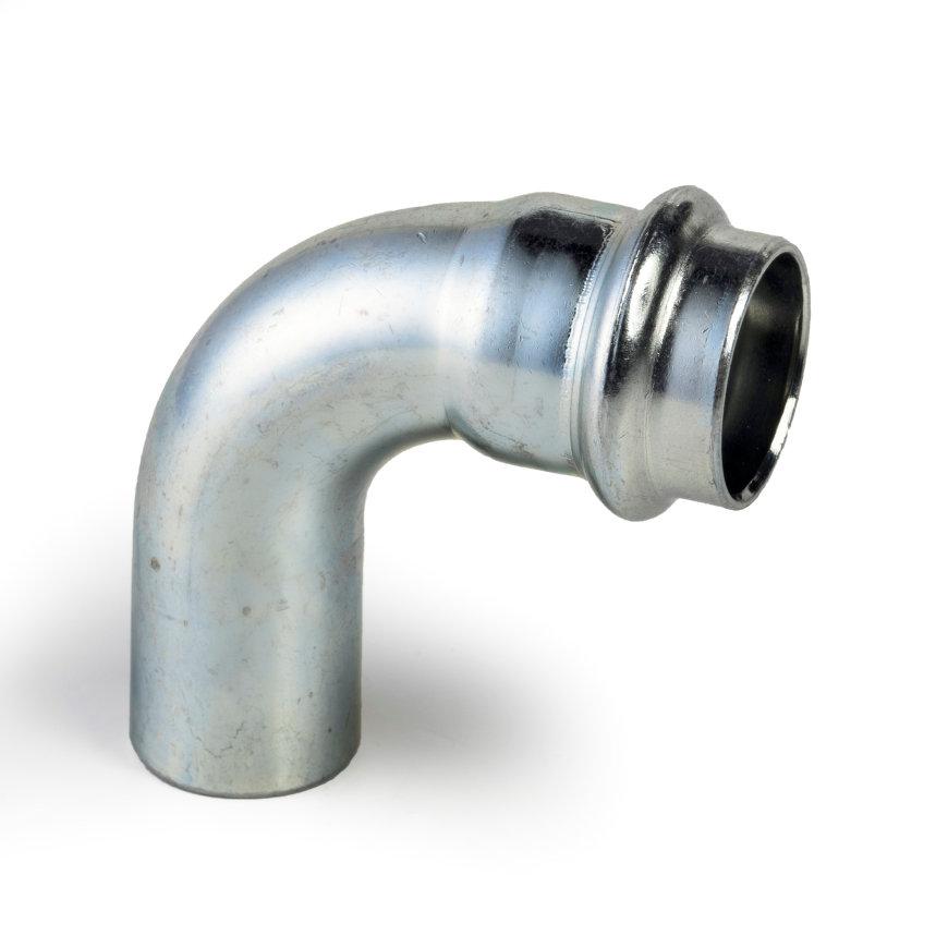 Viega Prestabo bocht 90° met SC-Contur, type 1116.1, pers x spie, 12 mm