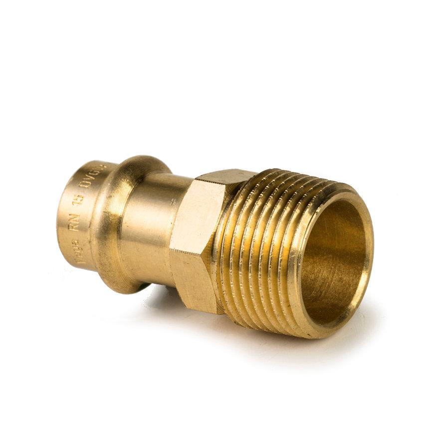 """Viega Profi/Sanpress overgangskoppeling met SC-Contur, type 2211, 18 mm x ½""""  default 870x870"""
