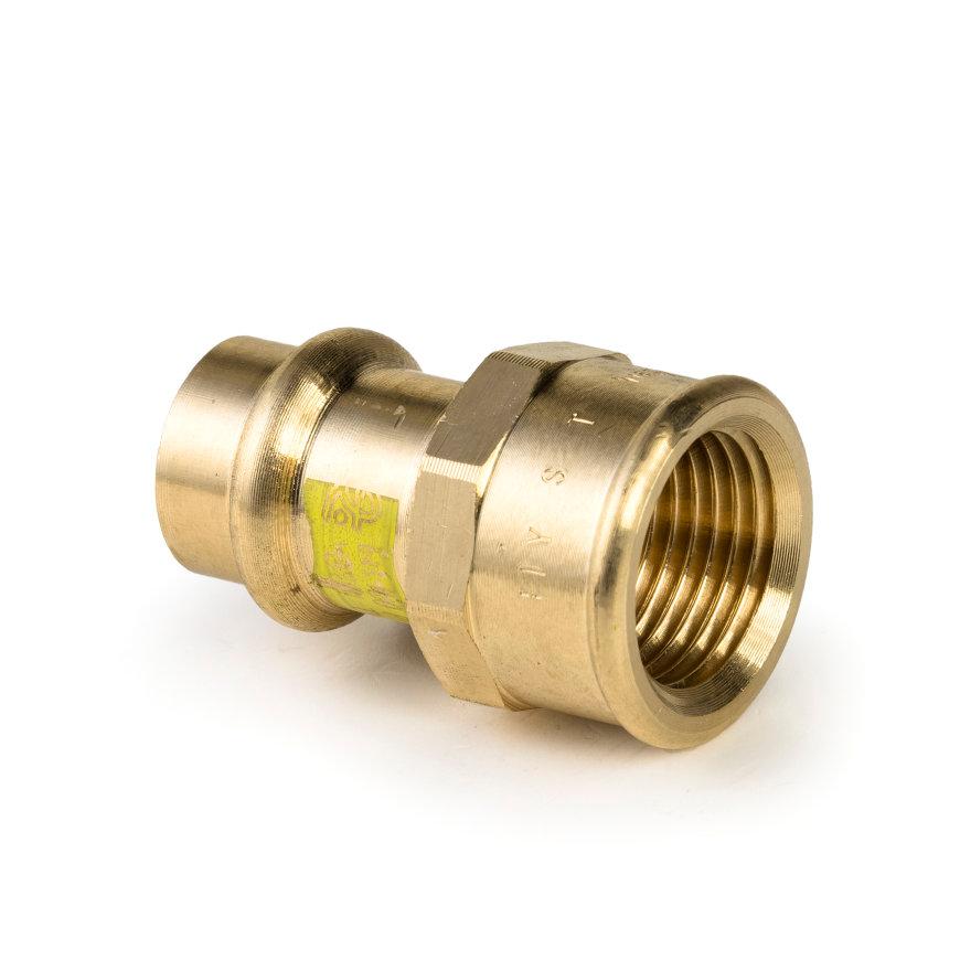 """Viega Profipress gas overgangskoppeling met SC-Contur, type 2612, 42 mm x 1½""""  default 870x870"""