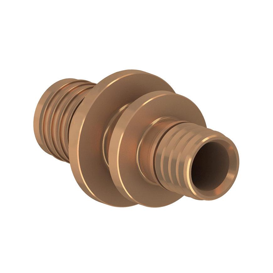 TECEflex verloopkoppeling, brons, 2x pers, 20 x 16 mm