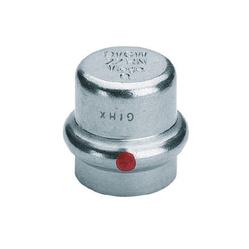 Viega Prestabo eindkap met SC-Contor, type 1156, pers, 12 mm