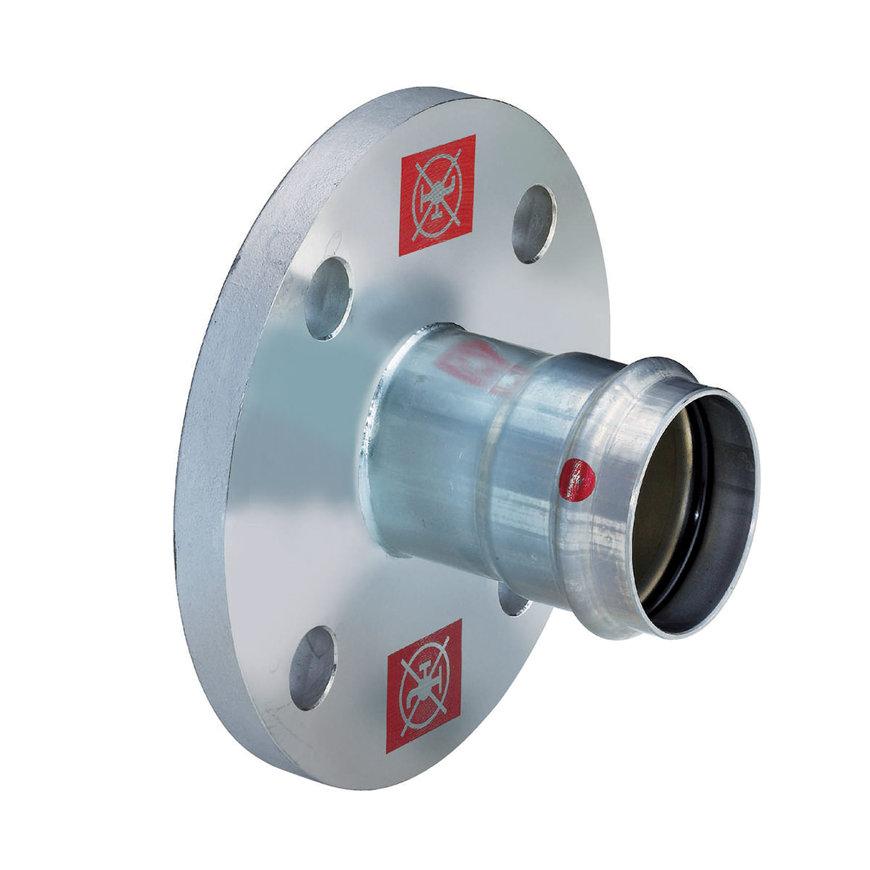 Viega Prestabo flensovergang met SC-Contur, type 11591, 35 mm (DN32)  default 870x870