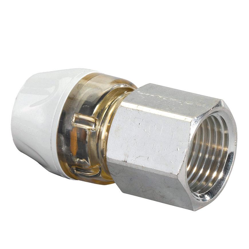 "Uponor RTM koppeling, 25 mm x 1"" binnendraad"