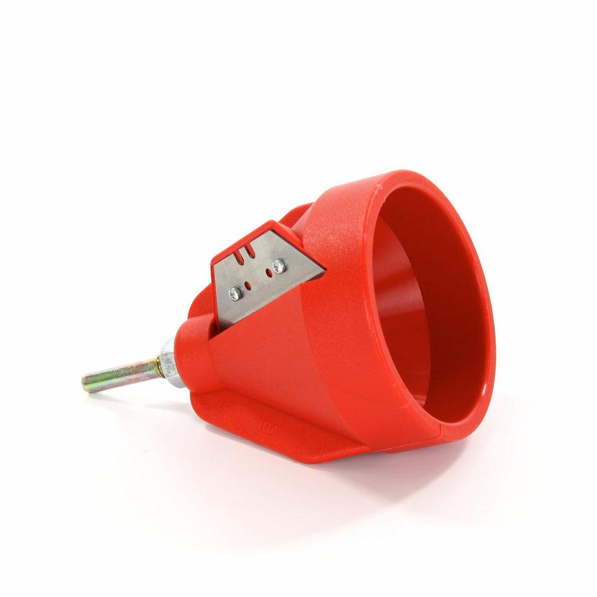 VDL pe afbramer, 16-63 mm, geschikt voor aanschuinen pe buis
