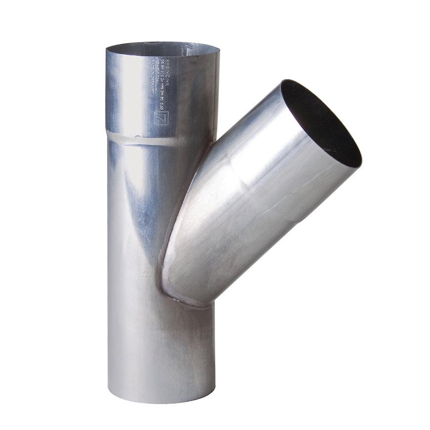 NTZ zinken hwa T-stuk 45°, 2 x mof/1 x spie, 60 mm  default 870x870