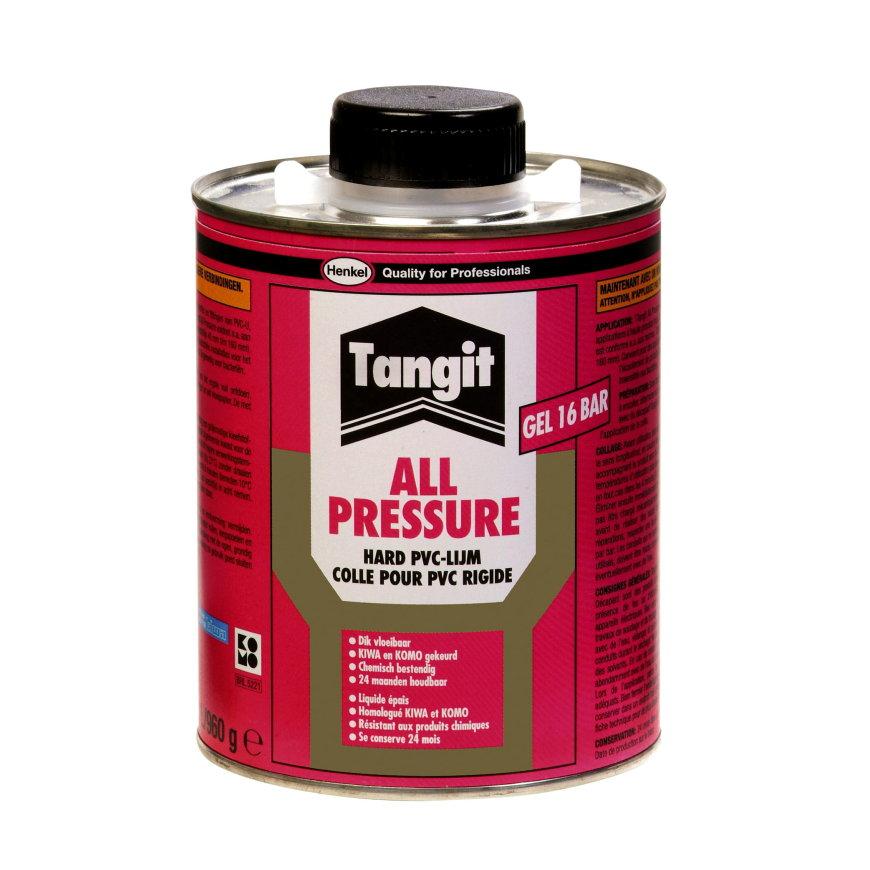 Tangit All Pressure hard pvc lijm, blik à 250 gr