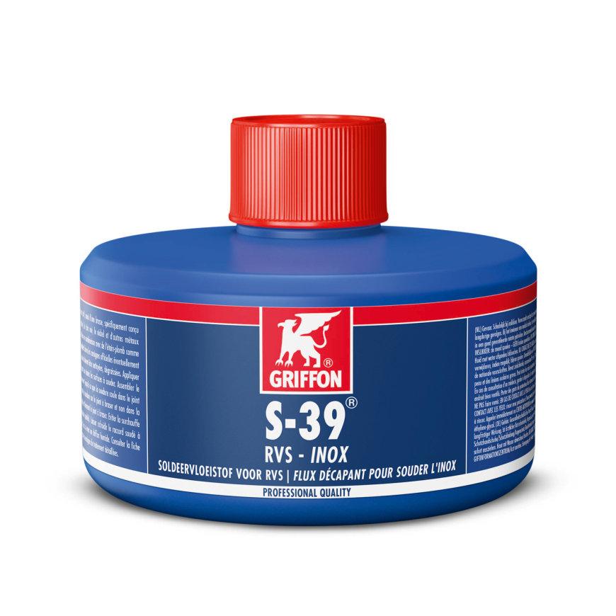 Griffon soldeervloeistof, S-39, rvs, flacon à 80 ml