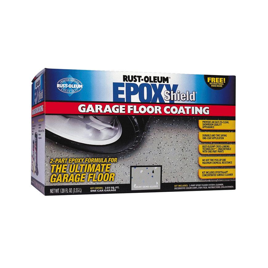 Rust-Oleum Epoxyshield garagevloer coating, grijs, doos à 3,55 liter  default 870x870