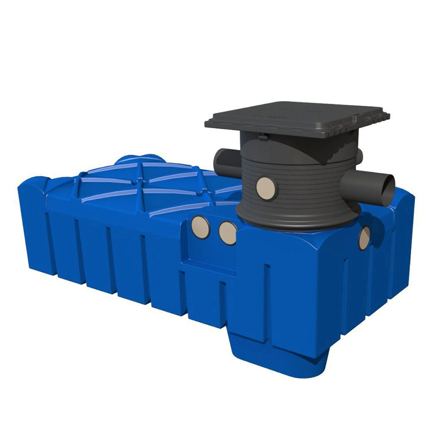 Waterhergebruiksysteem, 5.000 liter, Varitank Flatline, Trident 150 filter  default 870x870