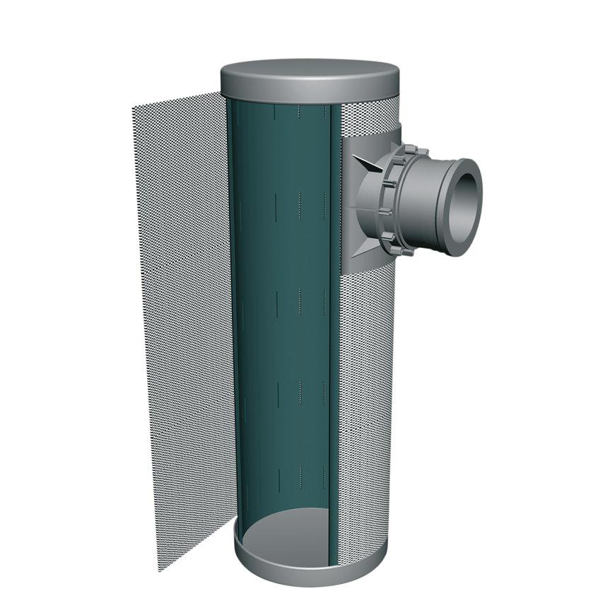 Infiltratiekolk omwikkeld met geotextiel, l = 150 cm, inhoud 157,5 liter  default 870x870