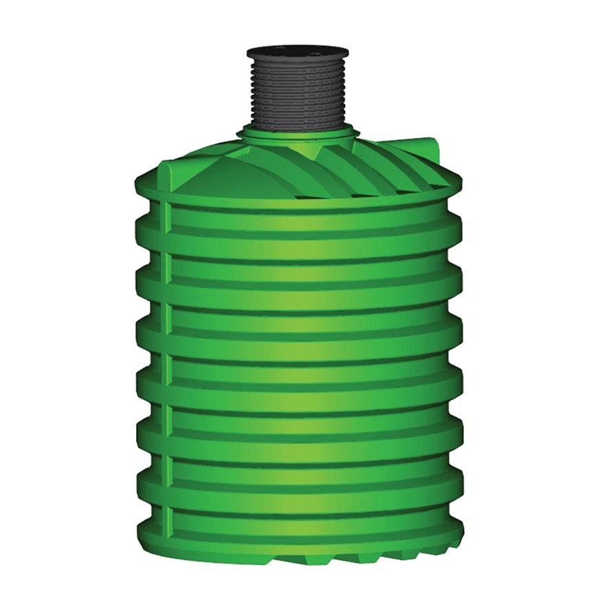Regenwatertank, pe, 10.000 liter, 231 x 302 cm verticaal, incl. deksel, ondergronds / bovengronds  default 870x870