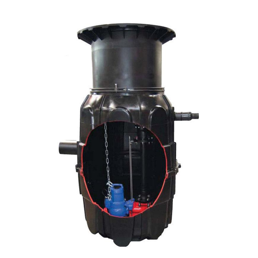 Kessel pompstation Holland, aardinbouw, enkelv. installatie, Tronic, LW 800, tronic Kl. D T2  default 870x870