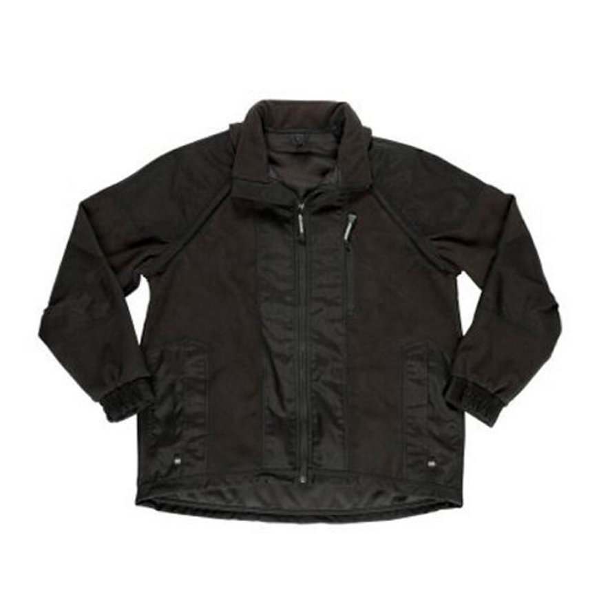 Mascot Coria fleece jack, met uitritsbare mouwen, zwart, XL  default 870x870