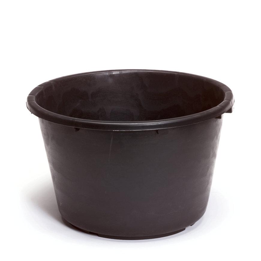 Speciekuip, zwaar polyetheen, zwart, 30 liter  default 870x870