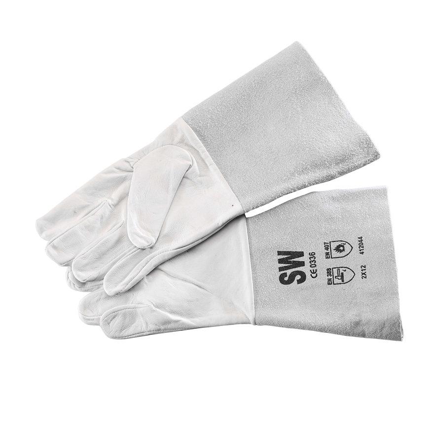 SafeWorker lashandschoenen, nappaleder met splitlederen kap, maat 10/XL