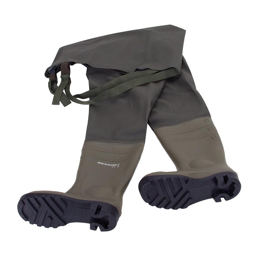 Dunlop laarzen, type Protomastor, waadbroek, full safety, maat 47  default 870x870