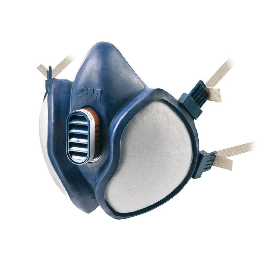 3M onderhoudsvrije halfgelaatsmasker, 4000-serie, type 4251  default 870x870