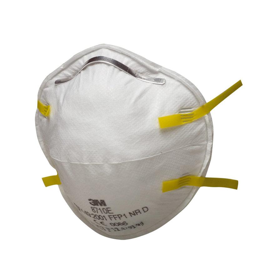 3M stofmasker zonder ventiel, 8000-serie, type 8710E, FFP1, verpakking à 5 stuks  default 870x870