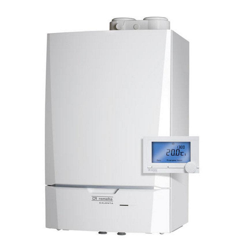 Remeha Combi Comfort, HR, cv -ketel, type Calenta 28c, CW4, incl. iSense  default 870x870