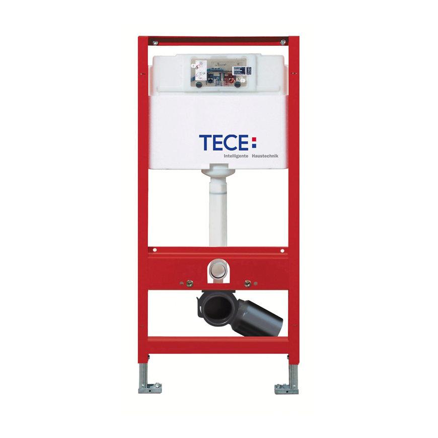 TECEprofil inbouwreservoir, frontbediening, Uni spoelkast, bouwhoogte 1120 mm