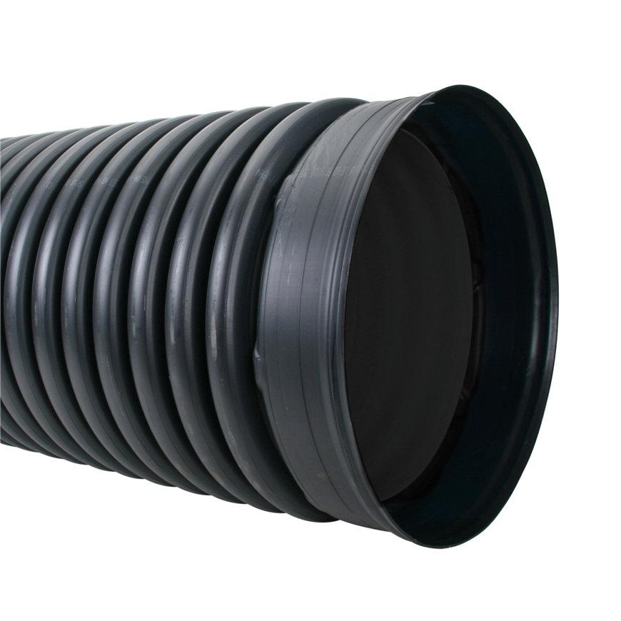 Pehd duikerbuis met aangevormde mof en rubberring, 468 x 400 mm, l = 6 meter  default 870x870